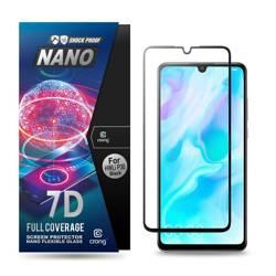 Crong 7D Nano Flexible Glass - Szkło hybrydowe 9H na cały ekran Huawei P30 Lite