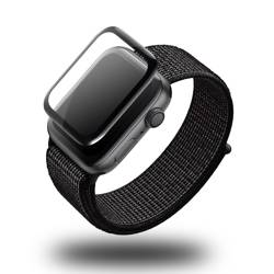 HI5 Szkło ochronne dla zegarka Apple Watch 1, 2 i 3 - 3D Black Full Glue