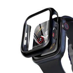 Hi5 Defender Black - Etui ochronne ze szkłem dla Apple Watch 44mm