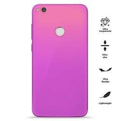 PURO 0.3 Nude - Etui Huawei P8 Lite (2017) / Honor 8 Lite (Fluo Pink)
