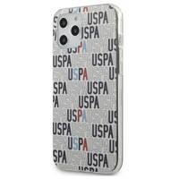 "US Polo USHCP12LPCUSPA6 iPhone 12 6,7"" Pro Max biały/white Logo Mania Collection"
