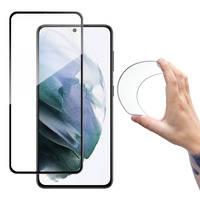Wozinsky Full Cover Flexi Nano folia szklana szkło hartowane z ramką Samsung Galaxy S21+ 5G (S21 Plus 5G) czarny