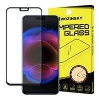 Wozinsky super wytrzymałe szkło hartowane Full Glue na cały ekran z ramką Case Friendly Huawei Honor 8X czarny