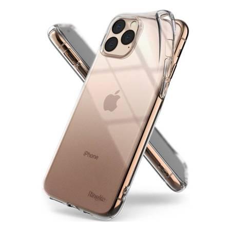 Ringke Air ultracienkie żelowe etui pokrowiec iPhone 11 Pro Max przezroczysty (ARAP0029)
