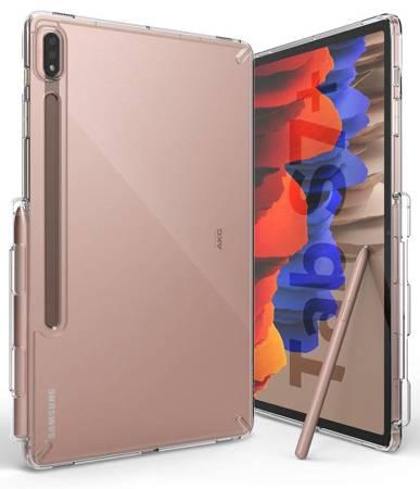 Ringke Fusion etui pokrowiec z żelową ramką Samsung Galaxy Tab S7+ (S7 Plus) przezroczysty (F476R52)